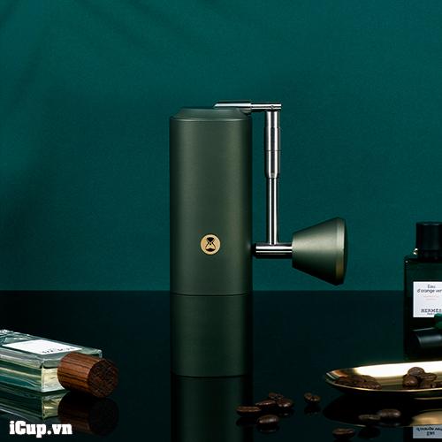 Phiên bản máy xay cà phê Timemore Chestnut X Safari màu xanh tuyệt đẹp