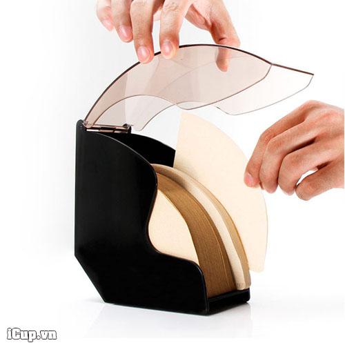 Giữ gấy lọc cà phê gọn gàng và sạch sẽ để có thể dùng bất cứ khi nào