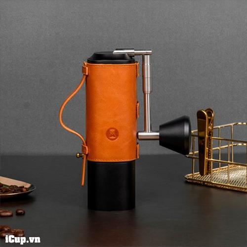 Bao da thiết kế riêng cho máy xay cà phê cầm tay Timemore Chestnut X