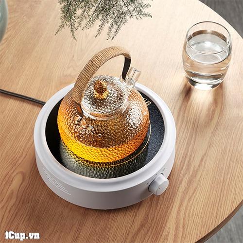 GM368 là một chiếc bếp điện hồng ngoại nhỏ gọn và đẹp mắt - pha trà và cà phê đơn giản hơn ở nhà, văn phòng