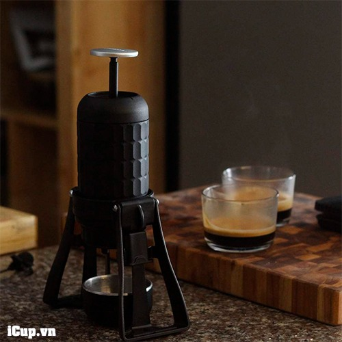 Pha cà phê với Staresso Mirage