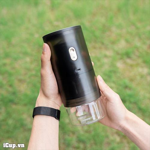 Máy xay cà phê cầm tay chạy pin Timemore Grinder Go nhỏ gọn luôn sẵn sàng nghiền cà phê cho bạn